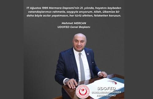 17 Ağustos 1999 Marmara Depremini Saygı İle Anıyoruz