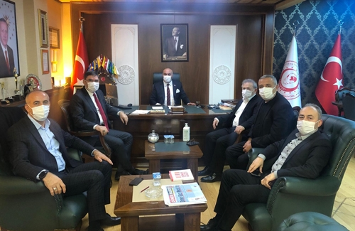 AK Parti Ümraniye İlçe Yönetimi´nden Mehmet Mercan´a ziyaret