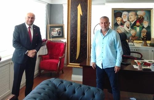 Ak Parti Eski İstanbul Milletvekili Sayın Metin Külünk´ü Ziyaret Ettik