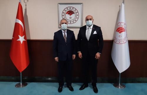 Bakan Yardımcısı Mehmet Hadi TUNÇ Bey´in Misafiri Olduk