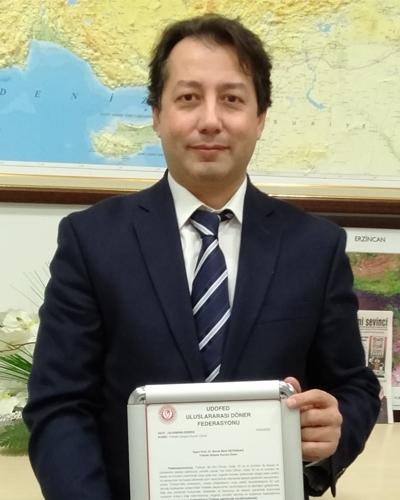 Prof. Dr. Burak Berk ÜSTÜNDAĞ