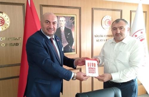 İstanbul Ticaret İl Müdürü Sn İsmail Menteşe´yi Ziyaret Ettik