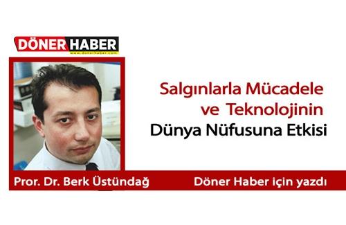 İTÜ Profesörü Dr Burak Berk Üstündağ Döner Habere Röportaj Verdi