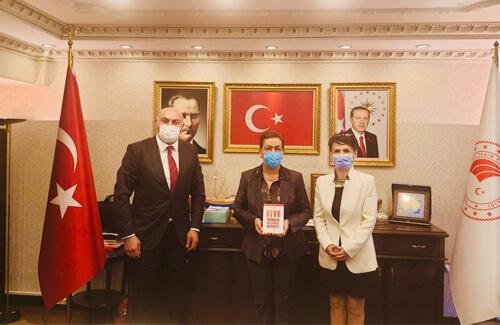 Tarım Orman Bakanlığı Bakan Yardımcısı Ayşe Ayşın Işıkgece´yi Ziyaret Ettik