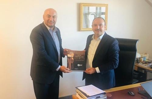 Udofed Başkanı Mehmet Mercan İstanbul Ticaret Odasını Ziyaret Etti