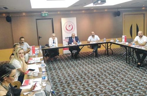 Udofed Ev Sahipliğinde Tarım Bakanlığı İle Döner Toplantısı Yapıldı