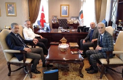 UDOFED visits Çekmeköy Mayor